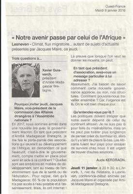 Conference jacques maire